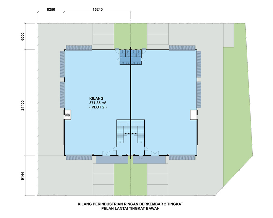 Taman Industri Impian Alma Bukit Mertajam_site_map_1